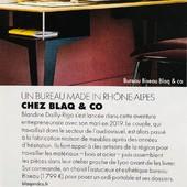 @ELLE parle de notre bureau BISEAU dans sa page Edition Lyon spécial Télétravail! ✨🙏🏻✨ Le Télétravail : une nouvelle manière d'exercer bien en vogue ces temps-ci...  Un immense M E R C I à @sokhakeo75, @clodocalud , @quentinrigo  • • • • #blaqandco #bureau #france #mobilier #steel #design #decorationinterieur #instahome #ellemagazine #télétravail
