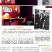 MagVille Mâcon parle de nous! Heureux d'être cité dans ce magazine local, car notre Région Bourgogne compte beaucoup pour nous et c'est ici qu'il se passe beaucoup de choses pour @Blaq&co. Rappel pour tous les habitants du 69 et du 71 : Livraison par nos soins GRATUITE! Parce que vous le valez bien! Un immense MERCI à Julien Niogret et Gwendoline Rigaudier • • • • #blaqandco #presse #design #mobilier #magville #magvillemacon #madeinfrance