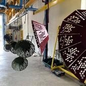 Ayé, voici quelques Granny en sortie de peinture. On vous les montre en situation sous peu. • • • • #blaqandco #design #nouvellecollection #steel #interiordesign #behindthescene #prototype #madeinfrance #decorationinterieur #interiordesign #mobilier